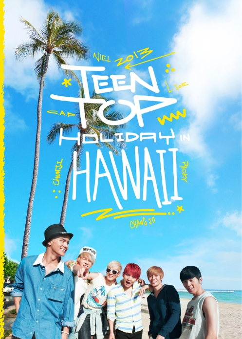 TEEN TOP IN HAWAII