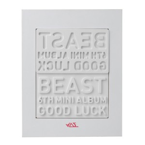 BEAST GOOD LUCK WHITE VER