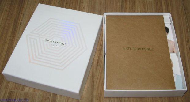 NATURE REPUBLIC EXO-K SOAP SET