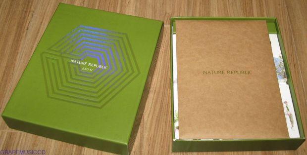 NATURE REPUBLIC EXO-M SOAP SET