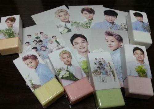 NATURE REPUBLIC EXO-M SOAP SET_4