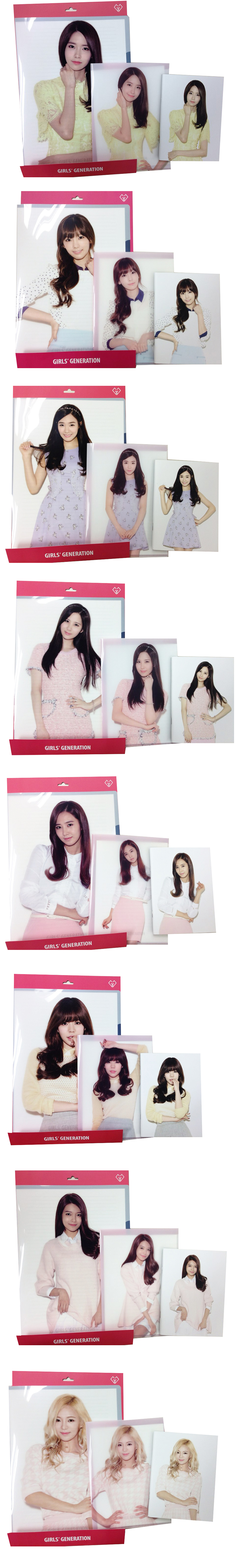 SNSD Stationary Set