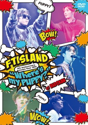 FT ISLAND 5TH ANNI AUTUMN TOUR 2015 DVD