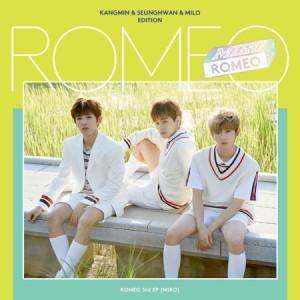 ROMEO 3rd Mini (Kangmin, Seunghwan, Milo edition)