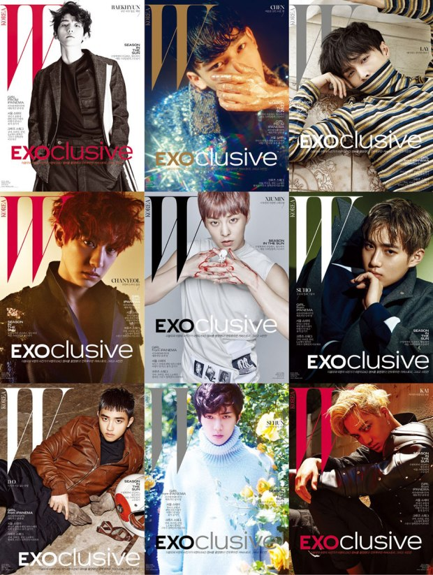 W KOREA JULY 16 EXO SPECIAL