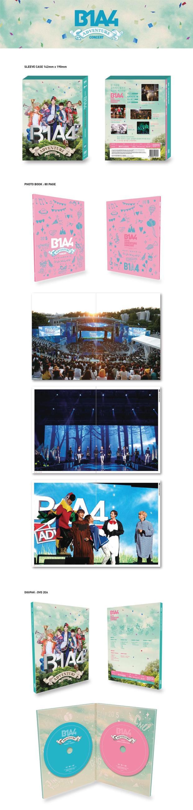 2015 B1A4 Adventure DVD